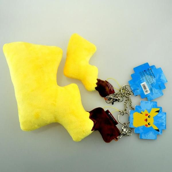 Pikachu Tail Keychain Plush | Plushie Paradise - Your Source for Stuffed Animals and Plush Toys