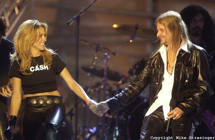 Sheryl Crow with Kid Rock @ CMT Flameworthy Award 2003 ...