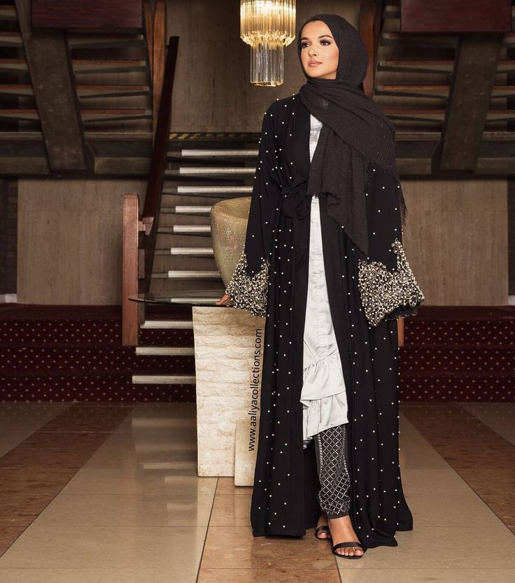 Launching by the end of this week - Black Nawra Abaya www.aaliyacollections.com 💕