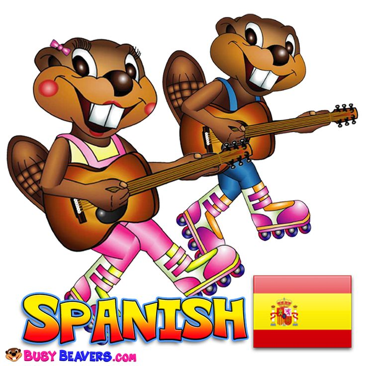 Spanish Level 1 - Learning is fun at BusyBeavers.com!