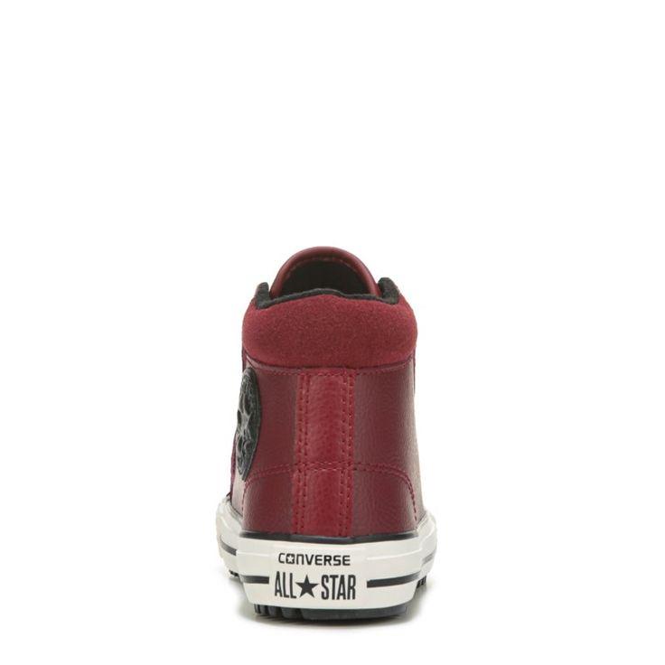 Converse Kids' Chuck Taylor All Star Sneaker Boots (Red Block/Black/Egre) - 12.0 M