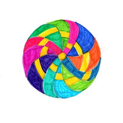 En mis meditaciones surge en forma imprevista una imagen. Tiendo a asociarla a la confusión que vive el planeta. La matriz energética de la Tierra pierde unidad. El brillo se ve entrecortado y también los tonos de la oscuridad. El conjunto aparece en fragmentos. #mandala #meditacion #busqueda