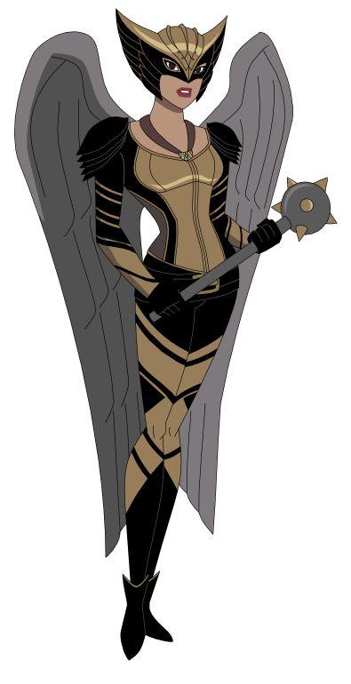 DCAU/CW: Hawkgirl by AMTModollas