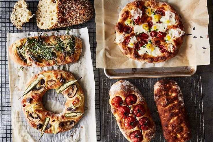 No-Knead Focaccia recipe on Food52   2 hours total rise time
