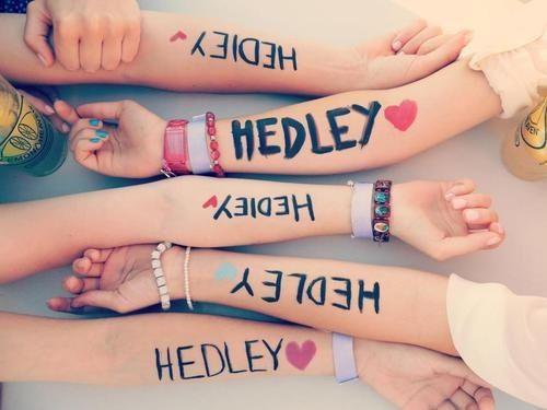 Hedley <3