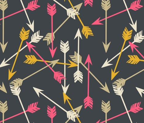 Awesome arrow fabric.: Patterns Fabrics, Arrows Pattern, Inspiration, Paper Sparrow, Arrows Fabric, Arrow Fabric, Arrow Patterns, Design