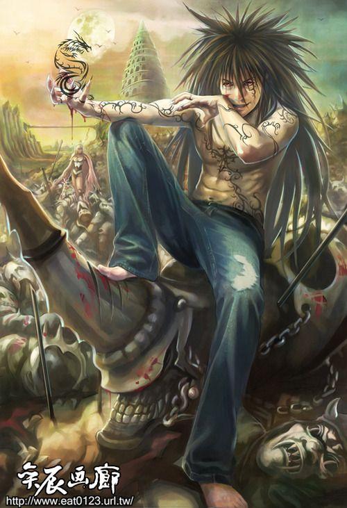 Yusuke yu yu hakusho pinterest for Yusuke demon