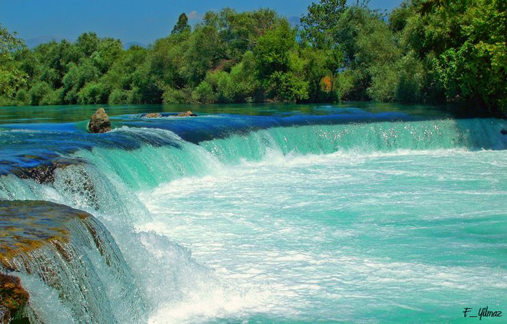 Another beautiful place in Turkey!  Manavgat Waterfall!