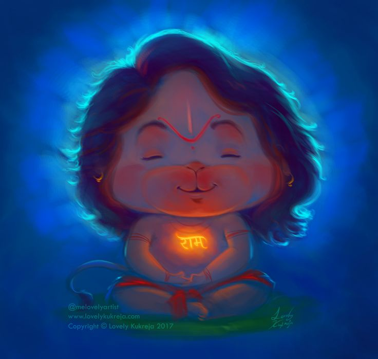 """Check out this @Behance project: """"Peaceful Hanumana"""" https://www.behance.net/gallery/54710279/Peaceful-Hanumana"""