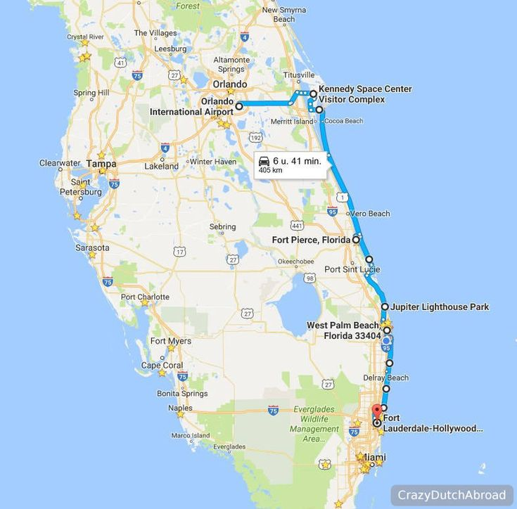 Two Days Road Trip From Orlando To Fort Lauderdale Florida East Coast