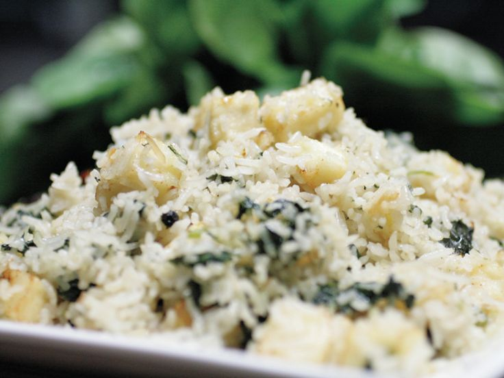 Spinach & Paneer Cheese Pulao
