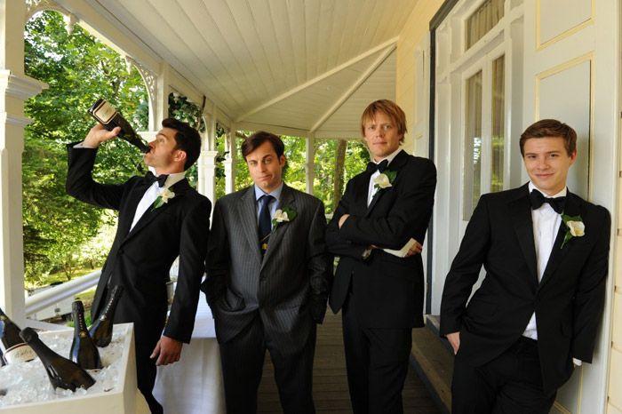 свадебный разгром