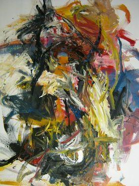 "Saatchi Art Artist Masri Hayssam; Painting, ""Self portrait -I look at you.."" #art"