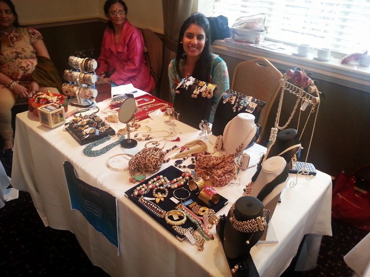Unique and interesting fashion Jewelry on show at the Harrow #L4GExpo #L4G