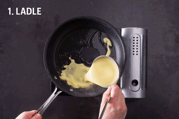 How to make the hot and crunchy filled crepes known as banh xeo in Vietnam.