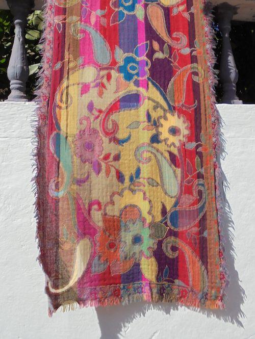 boiled woolen shawl Amelie
