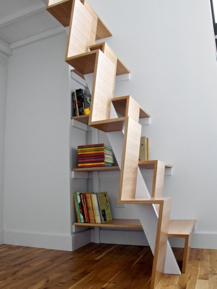 Space Saving Staircase Designs - Clippings