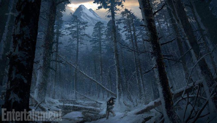 Sanat kitabı, Tomb Raid'in Yükselişi'nin birçok resminden oluşacak …