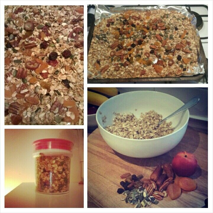 Homemade Granola from Honestly Healthy