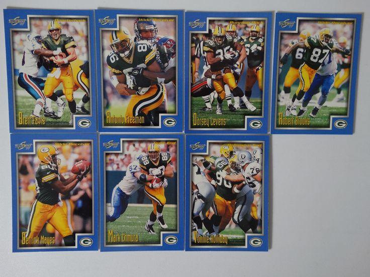 1999 Score Series 1 Green Bay Packers Team Set of 7 Football Cards #GreenBayPackers