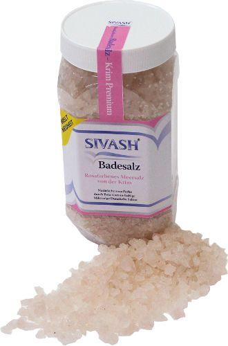 health salt - pink crystal salt from crimea
