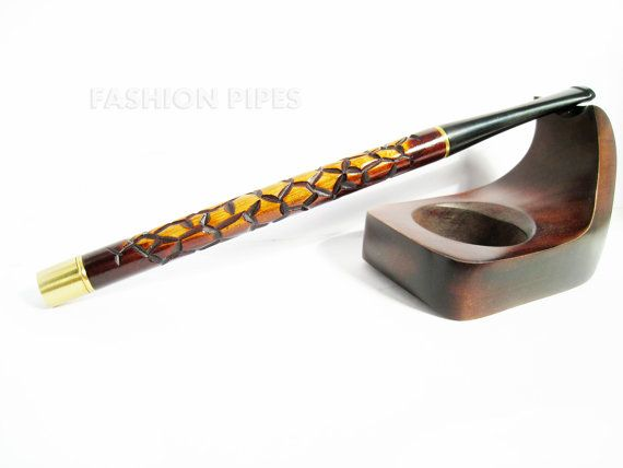 """Unique Cigarette Holder """"Audrey Hepburn"""" Wood/Wooden Handcrafted LONG Cigarette Holders 6.7'' / 170mm Fits Regular Cigarettes"""