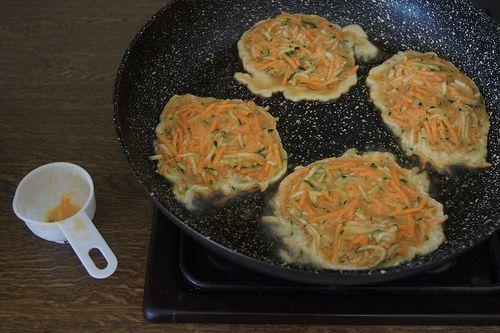 Sweet potato and zucchini fritters DSC08265