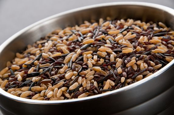 InHarvest: KAMUT® Blend - A combination of three of our most exciting grains; sweet KAMUT® Brand Khorasan Wheat, vibrant Colusari™ Red Rice and epicurean wild rice. Holds well on the line, perfect for banquets and easily used in most standard grain-based recipes.