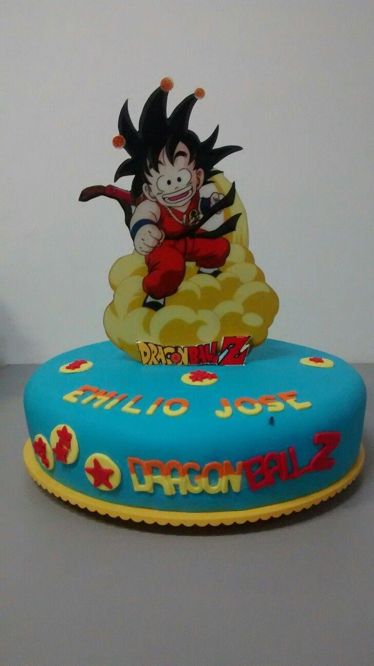 Torta Goku Goku Goku Buga Y Tortas