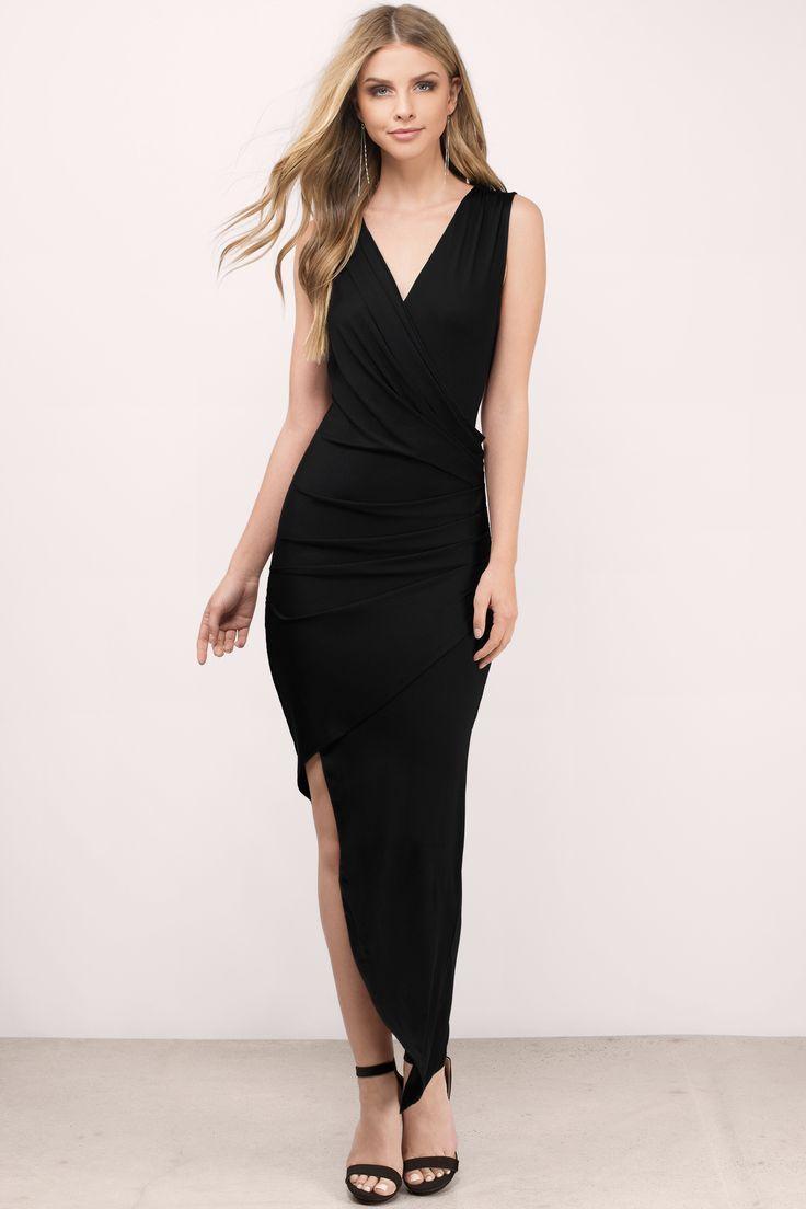 Janna Wrap Maxi Dress At Tobi Shoptobi