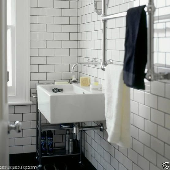 Paris Gloss White Flat Metro Victorian Style Brick Kitchen Wall Tiles 10 X 20cm | eBay