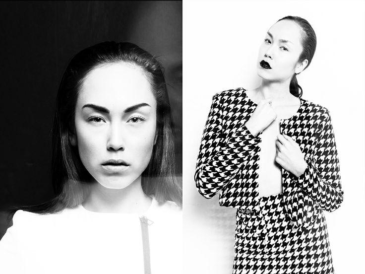 Title: 'Fantôme' Hair & Makeup: Julia Stone Art Direction: Gabriel Graham Style: Monika Tatalovic Model: Nadine (Sutherland) Photography: Hannah Sider
