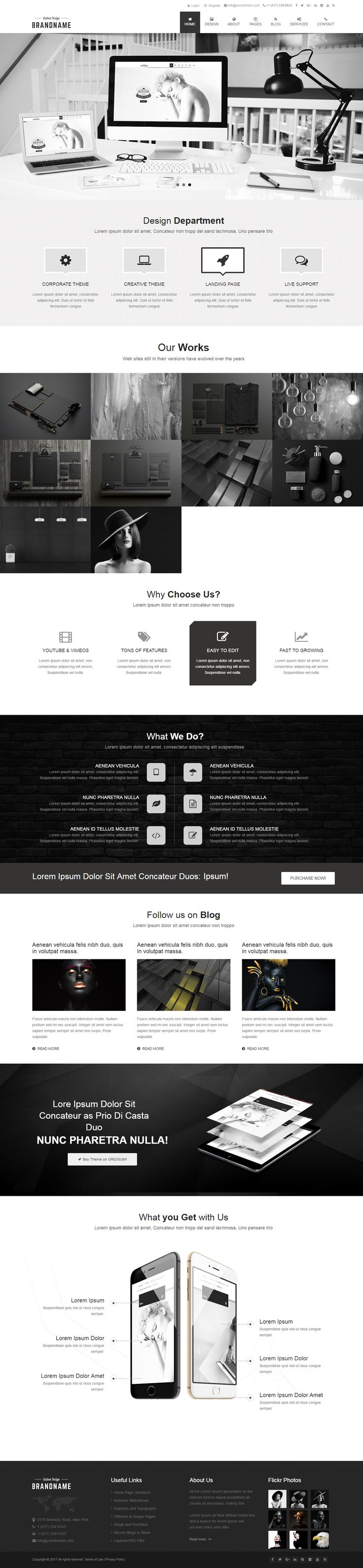 264 best HTML5 Templates images on Pinterest | Role models, Template ...
