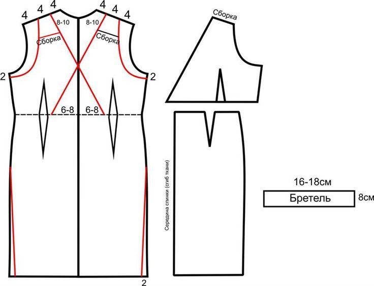 Выкройка платье греческого стиля
