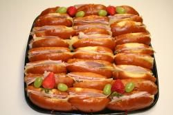 Mini medianoche sandwich platter | Porto's Bakery - 25 count $46