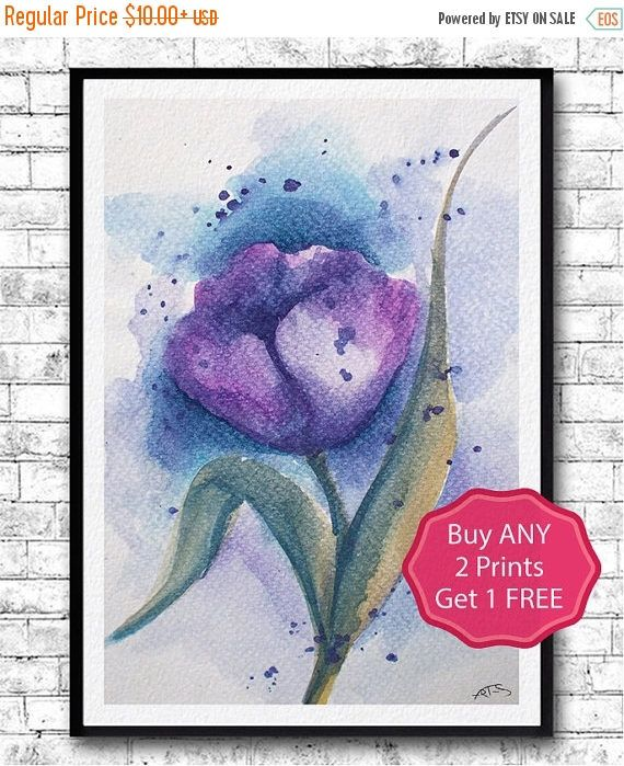 Kitchen Print Kitchen Wall Art Purple Kitchen Decor Gratitude: 17 Best Ideas About Purple Tulips On Pinterest