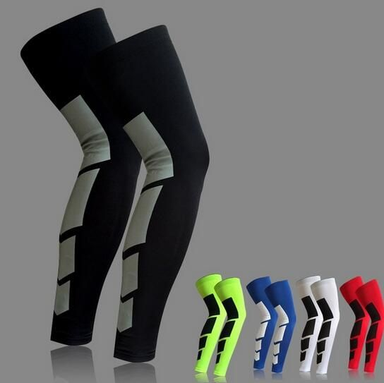 2 Pcs/Pair Super Elastic Lycra Basketball Leg Warmers Calf Thigh Compression Sleeves Knee Brace Soccer Volleyball Cycling #Affiliate