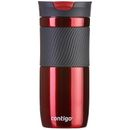 Contigo Byron Drinks Bottle (470ml) - Red The Byron drinks mug from Contigo is a functional stainless steel mug designed with a plethora of practical features. The Byron has a no-spill and no-leak construction aided by the patented SNAPSEAL t http://www.MightGet.com/january-2017-11/contigo-byron-drinks-bottle-470ml--red.asp