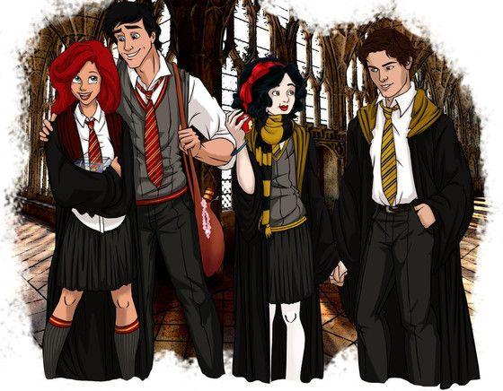 Disney Hogwarts students