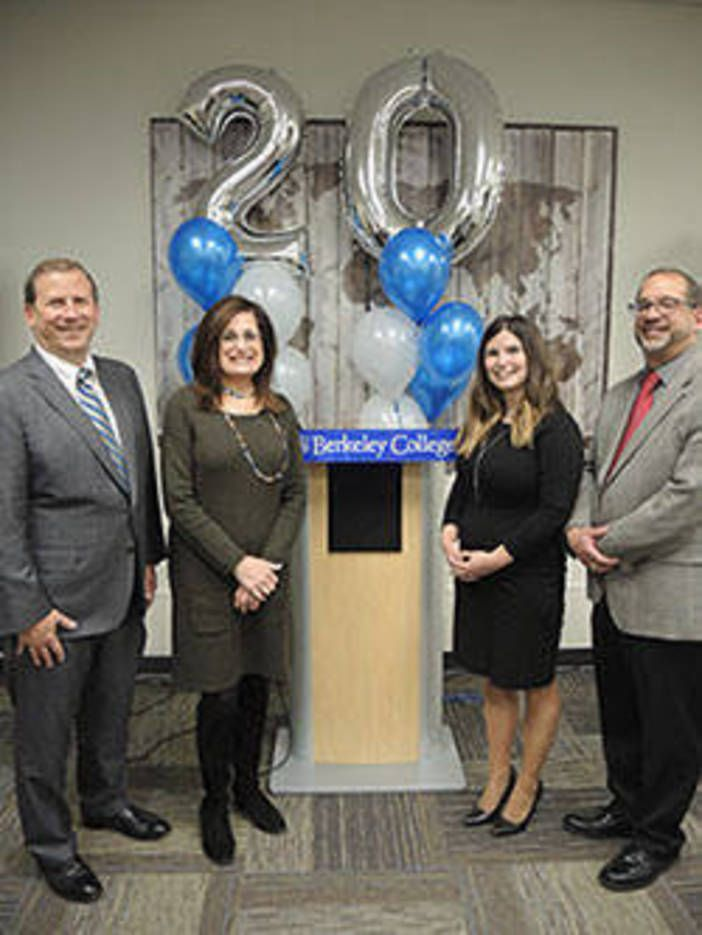 WOODLAND PARK, NJ - Berkeley College alumni, business partners, faculty and staff gathered to celebrate the 20th anniversary of online education at Berkeley College during National Distance...