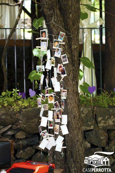 Photo Booth - angolo delle fotografie - per matrimonio sul prato