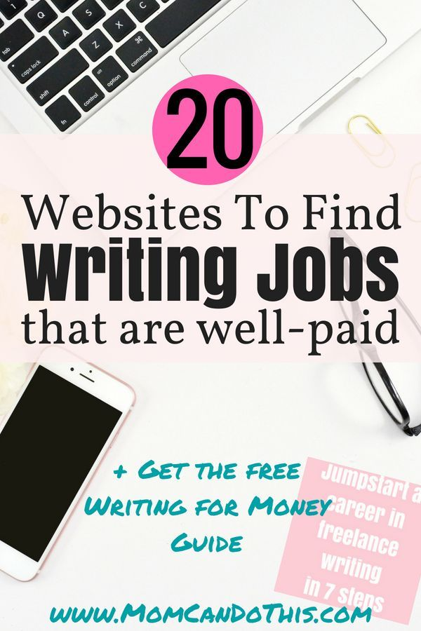 20 great go-to-places online to make money writing from home now