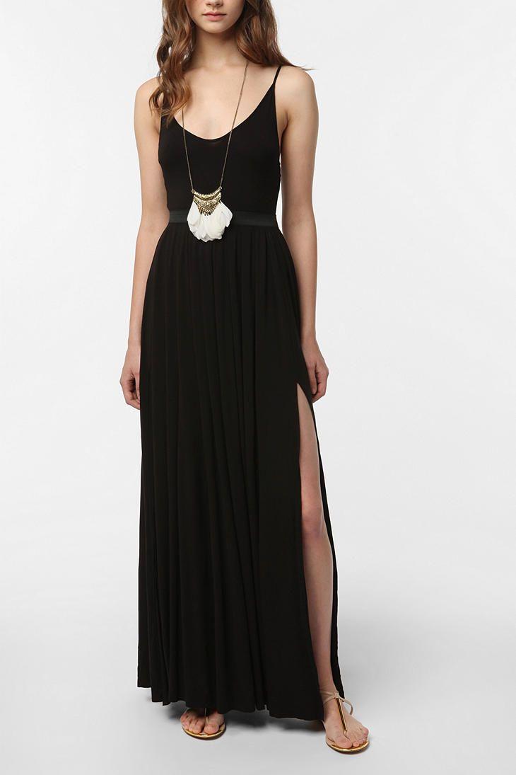 Silence & Noise Goddess Maxi Dress - 79