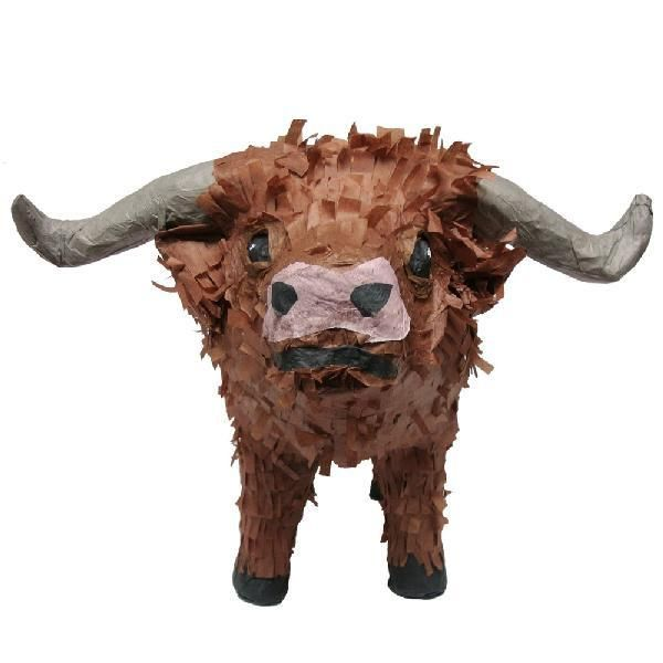 Western Texas Longhorn Pinata for your kids birthday party! Buy at pinatas.com…