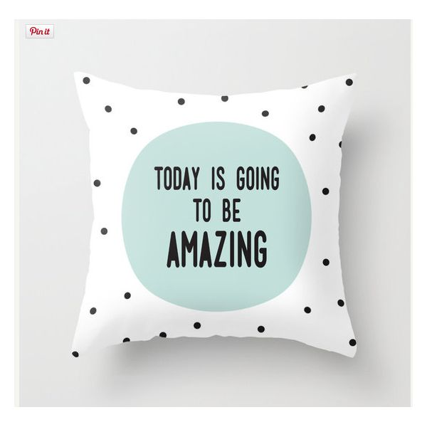 Cult Living Scandinavian Today Is Going To Be Amazing Cushion - White