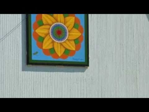 Quilt Barn Painting - YouTube