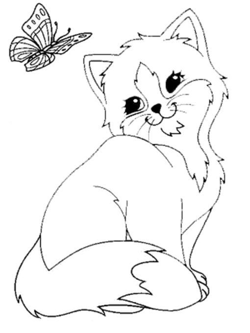 Malvorlagen Kostenlos Katze