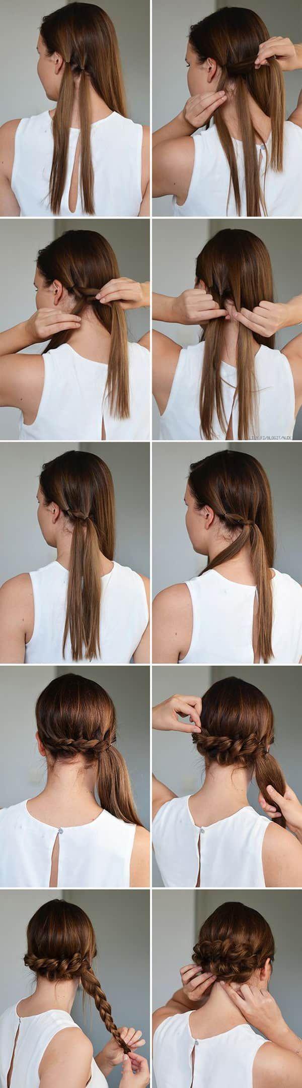 Повседневные прически для длинных, коротких и средних волос - разнообразные идеи и фото уроки. Большая коллекция стильных и лёгких причёсок на каждый день