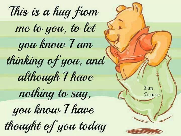 Here's a hug from me to u........