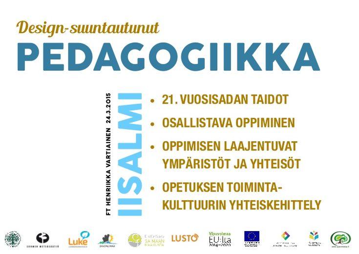 Osallistava oppiminen ja opetuksen toimintakulttuuri Veso-päivien luentodiat Iisalmi 24.3.2015 FT Henriikka Vartiainen